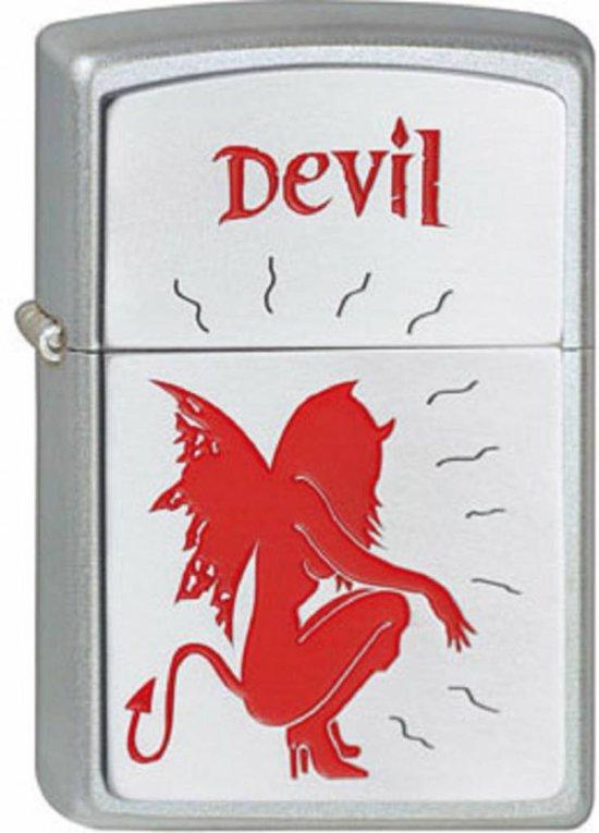 Aansteker Zippo Hunkered Devil
