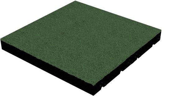 Groen Tegels Outlet : Bol rubber tegel mm cm groen