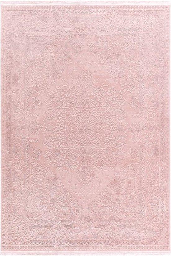 Vloerkleed oosters motief Pudra 80x150 roze