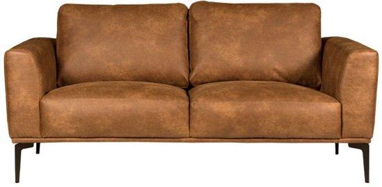 HomingXL Bank Tulp 2-zits - leer Colorado cognac 03 - 1,75 mtr breed