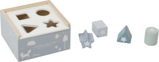 Afbeelding van Little Dutch Vormenstoof Adventure Blue speelgoed
