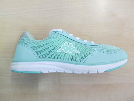 outlet winkel verkoop online goedkoop kopen Kappa sneaker dames mint wit 303yrt0932, maat 36