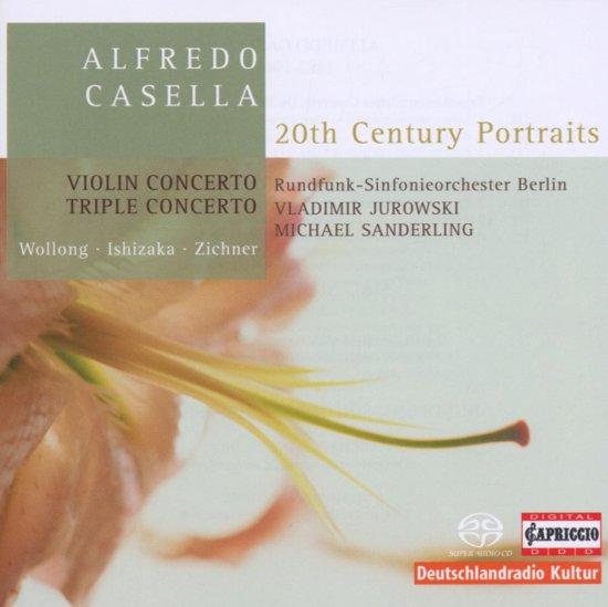 Casella: Triple Concerto, Violin Concerto