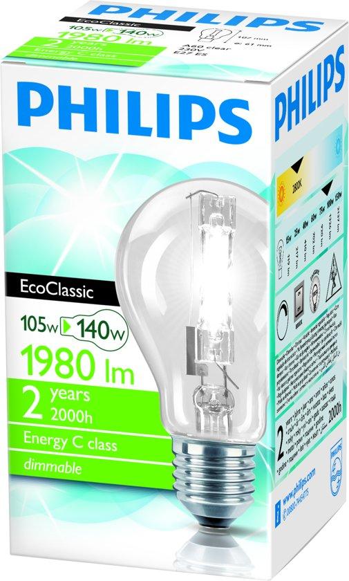 Philips Eco30 Helder normaal 105WE27
