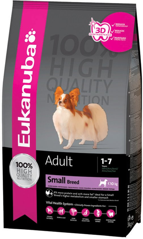 Eukanuba Dog Adult - Small Breed - Hondenvoer - 12 kg