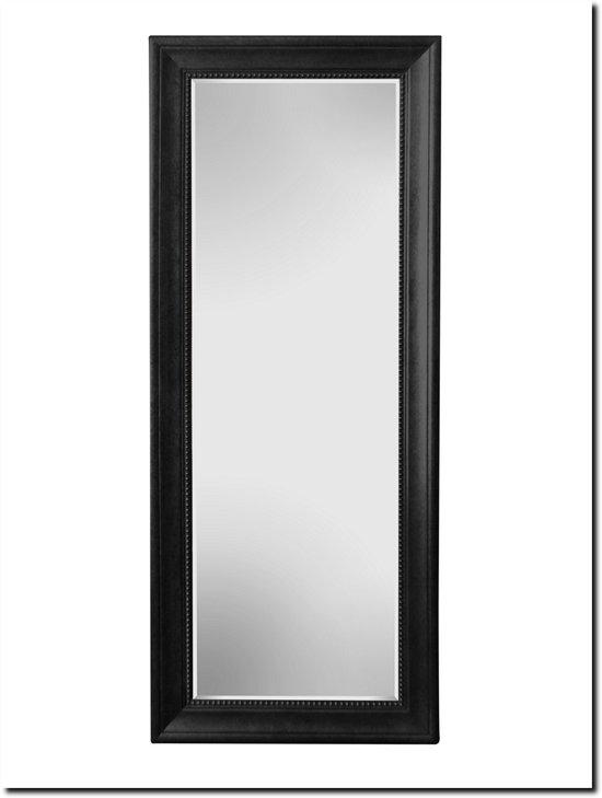 Grote Staande Spiegel.Bol Com Grote Staande Spiegel Nino Zwart Buitenmaat 95x195cm