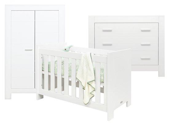 bol | bopita - 3-delige babykamer - merel - wit, Deco ideeën