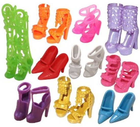 Barbie pop schoenen