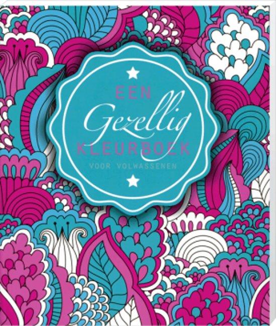 Een gezellig kleurboek voor volwassenen