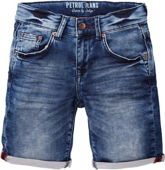Petrol Industries Jongens Jeans Short Deep blue sea Maat 140