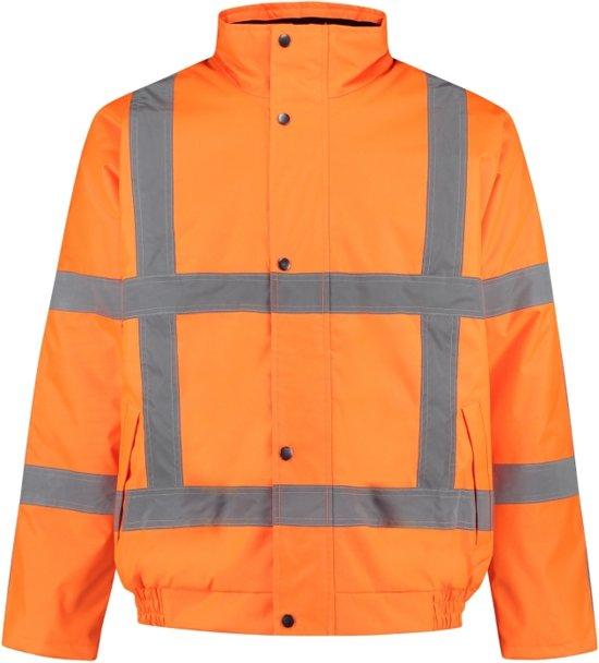 EM Traffic Pilotjack High Visibility RWS Fluor Oranje - maat M
