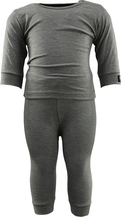 RJ Bodywear Unisex Thermo-ondergoed RJ Bodywear - Grijs - Maat 62/68