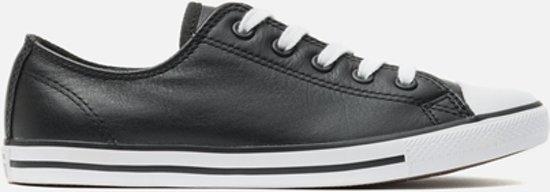 converse sneaker zwart