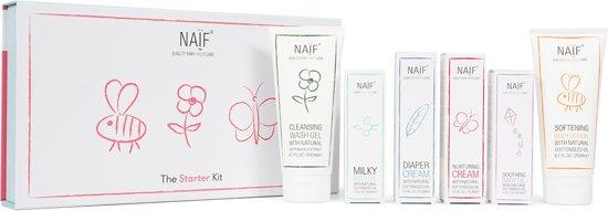 De Naïf Starter Kit – Complete set babyverzorging