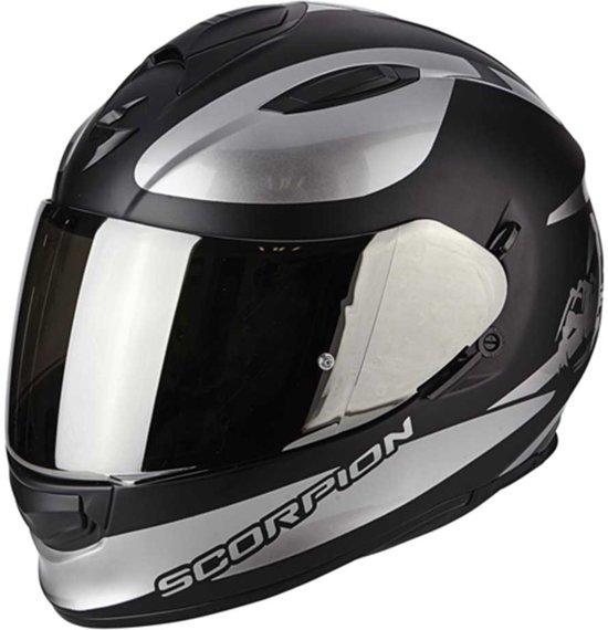 Scorpion Integraalhelm EXO-510 Air Sublim Matt Black/Chrome-XL