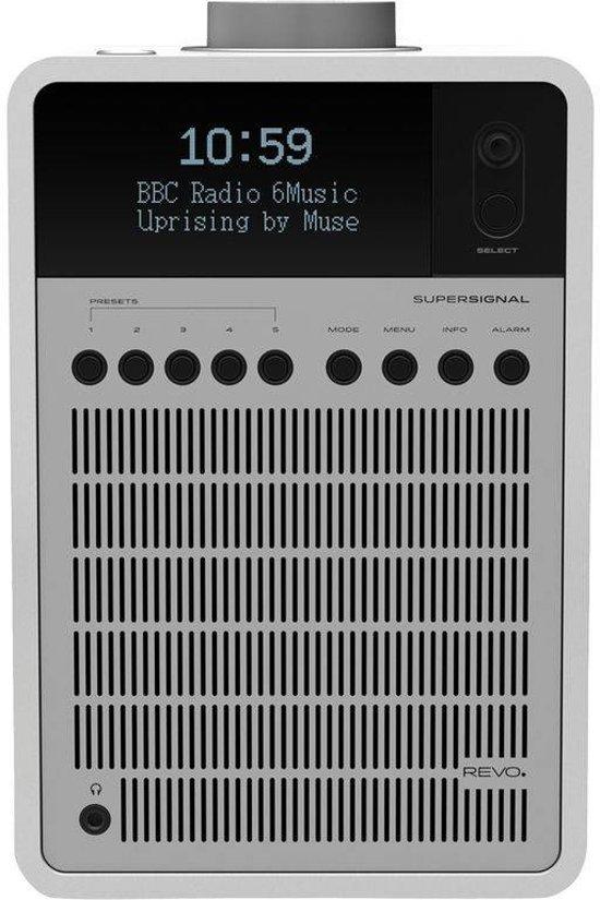 FonQ SuperSignal radio met FM, DAB+ en aptX Bluetooth.