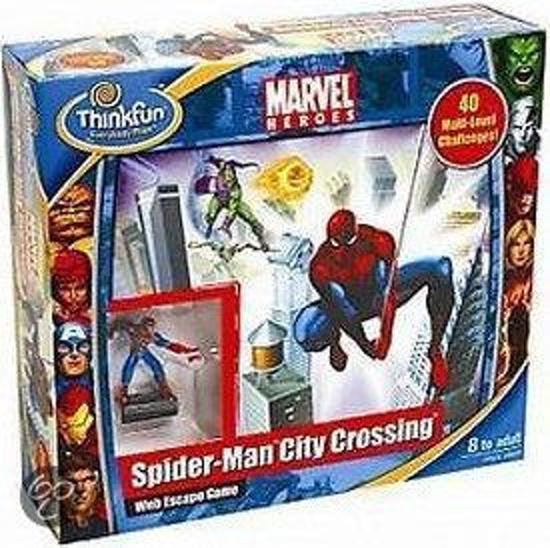Afbeelding van het spel Spiderman City Crossing (variant op River Crossing)