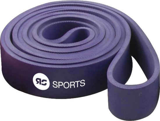 RS Sports Power band l Weerstandsband l Resistance band - medium - paars