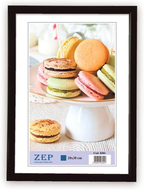 ZEP -  Kunststof Fotolijst Basic Frame Zwart voor foto formaat 10x15 - KB1