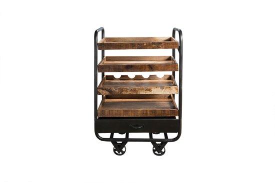 Bol.com bakkerskar kast acacia hout metaal 29kg