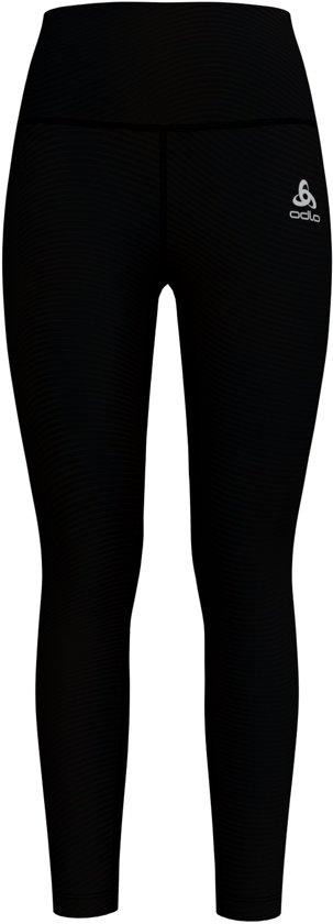 Odlo Bl Bottom Long Lou Medium Sportlegging Dames - Black/ZHD print