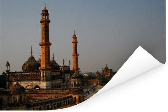 Aziatische Moskee binnen het Bada Imambara in Lucknow Poster 90x60 cm - Foto print op Poster (wanddecoratie woonkamer / slaapkamer)