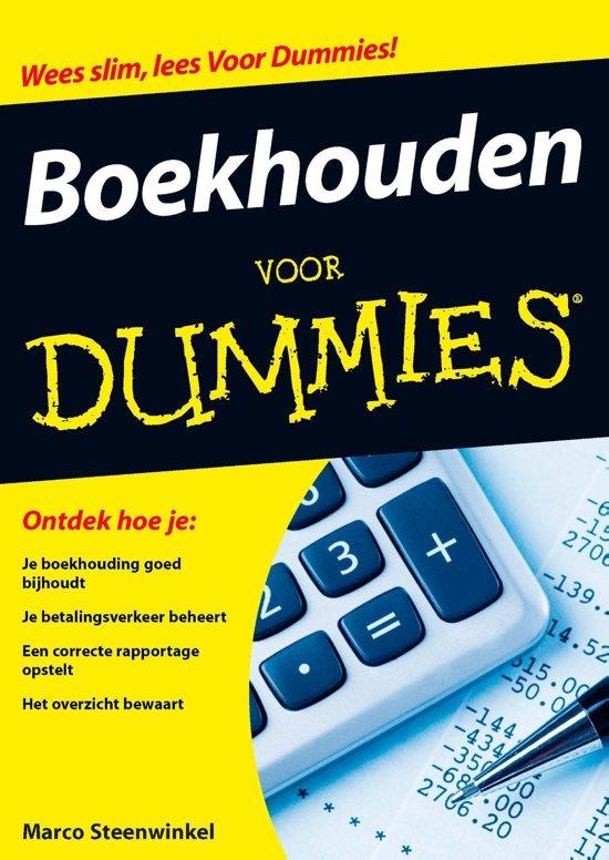Boekhouden Voor Dummies Pdf