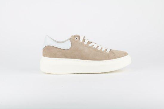 95f5da56150 bol.com   HIP Shoestyle for Women D1224 Sneaker Dikke Zool Beige