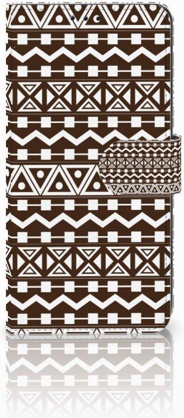 Sony Xperia XZ3 Bookcase Aztec Brown