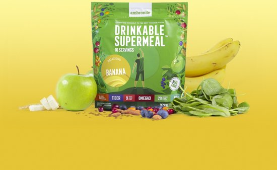 Ambronite Drinkbare Maaltijd Banaan