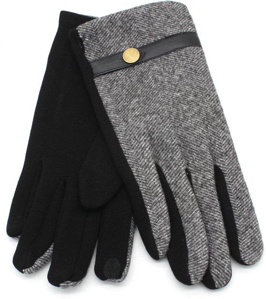 Handschoenen Visgraat - Heren - Grijs - Dielay