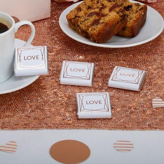 Geo Blush Chocolade (20 stuks) Valentinaa