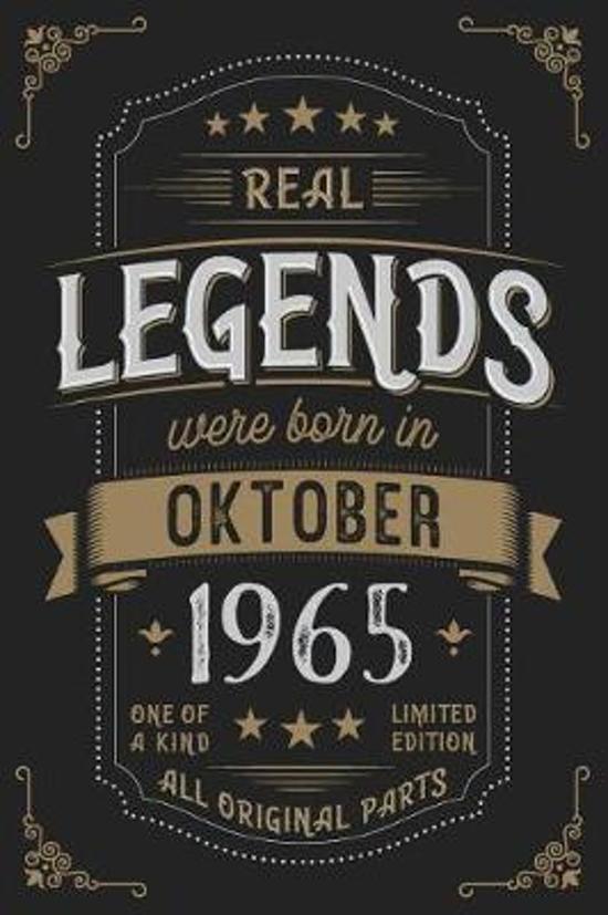 Real Legends were born in Oktober 1965