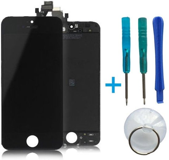 LCD-Display incl. Touch Unit Apple iPhone 5 Black in Streek