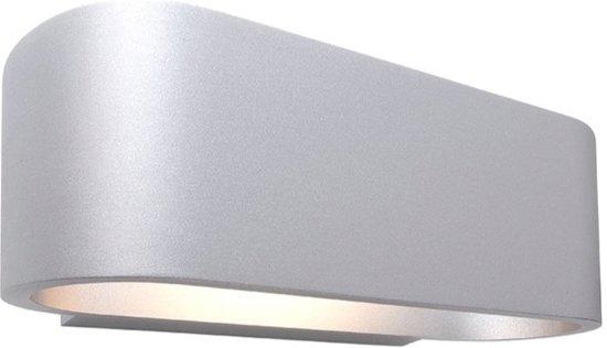 Woonkamer En Slaapkamer : Bol.com zoomoi ossa mat zilver wandlamp woonkamer