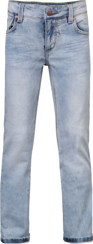 WE FASHION Jongens Jogg Denim - Bleached Denim - Maat 116