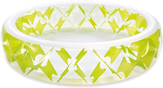 Intex SWIM CENTER PINWHEEL POOL, w/ Infl