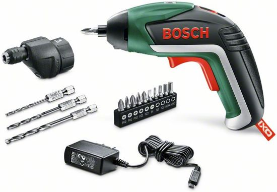 bosch ixo v drill accu schroefmachine met 3 6v li ion accu incl 10 bits micro usb. Black Bedroom Furniture Sets. Home Design Ideas
