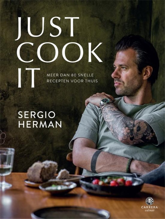 Boek cover Just cook it van Sergio Herman (Hardcover)