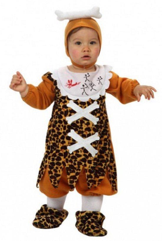 Holbewoner kostuum voor babies 0-6 maanden