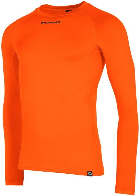Stanno Functional Sports Thermo  Sportshirt performance - Maat 164  - Unisex - oranje