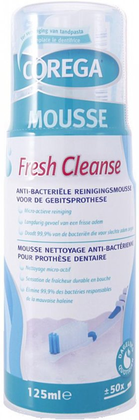 Corega Fresh Cleanse - Kunstgebitreiniging