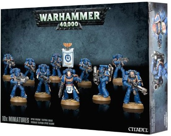 Warhammer 40.000 Space Marine Tactical Squad