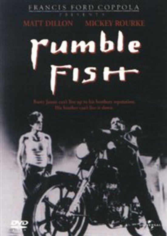 Cover van de film 'Rumble Fish'