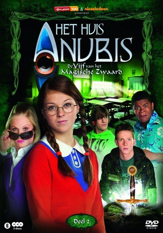 Het huis anubis de vijf van het magische zwaard deel 2 seizoen 5 deel 2 sanne sa for De ingang van het huis
