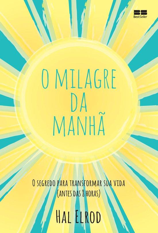 Boek cover O milagre da manhã van Hal Elrod (Onbekend)