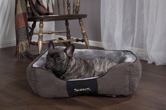 Chester Hondenmand - Grijs - L - 75 x 60 cm