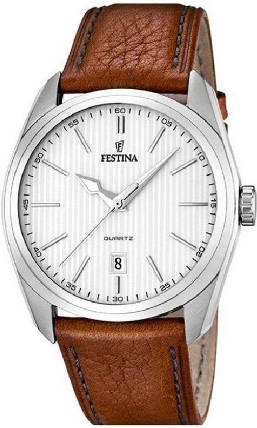 Festina Classic  - Horloge F16777/1 - Leer