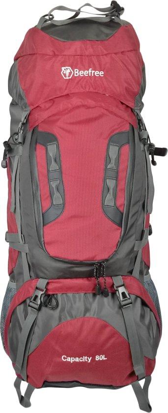 c20c5263ead bol.com   Beefree 80 Liter nylon Backpack - Rood