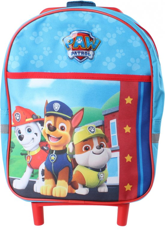 73160d1ac61 Nickelodeon Trolley/rugzak Paw Patrol Junior 6 Liter Blauw